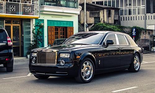 Đại gia Lào Cai tậu xe siêu sang Rolls-Royce Phantom ảnh 6