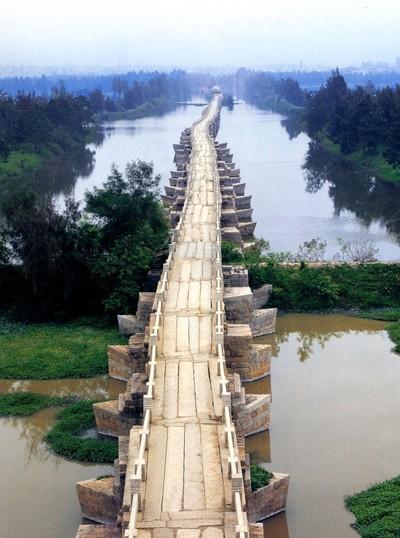 Mục kích cây cầu cổ bằng đá dài nhất Trung Quốc ảnh 1