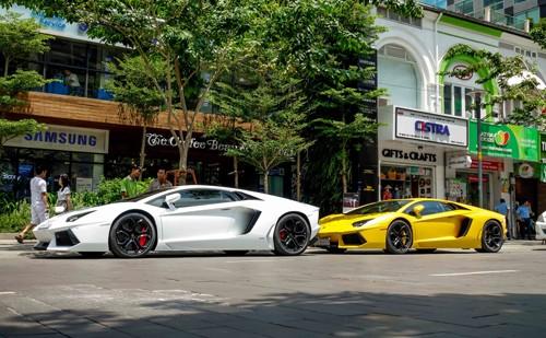 Siêu xe Lamborghini - thú chơi của đại gia Sài Gòn ảnh 1