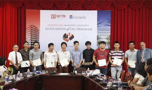 ĐH Duy Tân: Sinh viên Xây dựng và Kiến trúc chuẩn CSU khóa đầu tốt nghiệp ảnh 1