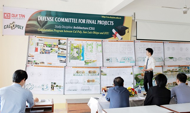 ĐH Duy Tân: Sinh viên Xây dựng và Kiến trúc chuẩn CSU khóa đầu tốt nghiệp ảnh 3