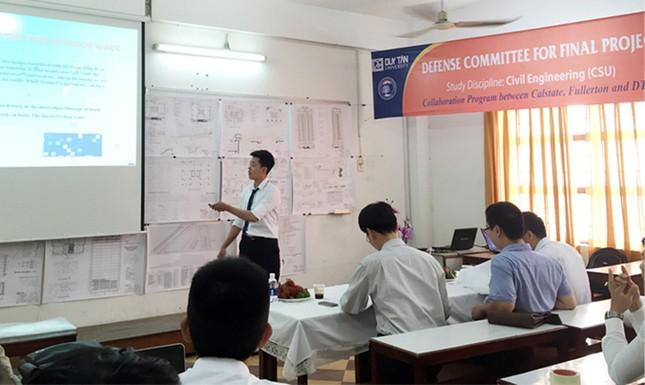 ĐH Duy Tân: Sinh viên Xây dựng và Kiến trúc chuẩn CSU khóa đầu tốt nghiệp ảnh 4