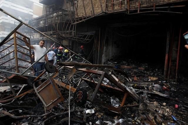 Hiện trường đánh bom đẫm máu khiến 125 người chết ảnh 3