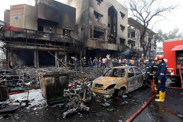 Hiện trường đánh bom đẫm máu khiến 125 người chết ảnh 4