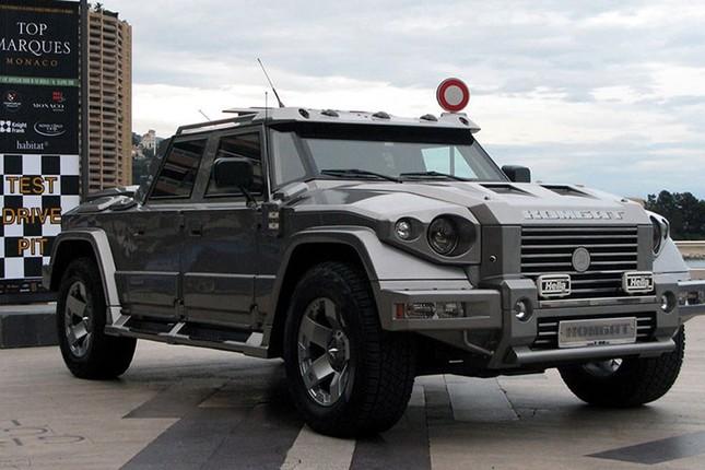 Dartz Kombat Prombron - siêu xe chống đạn giá triệu đô ảnh 2