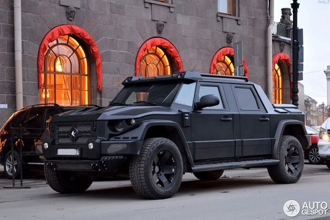 Dartz Kombat Prombron - siêu xe chống đạn giá triệu đô ảnh 4