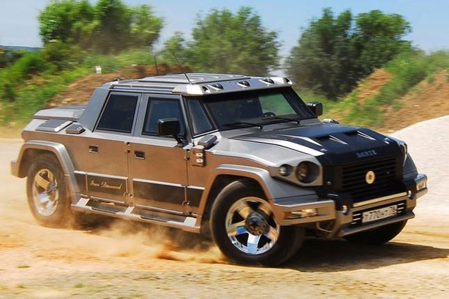 Dartz Kombat Prombron - siêu xe chống đạn giá triệu đô ảnh 7