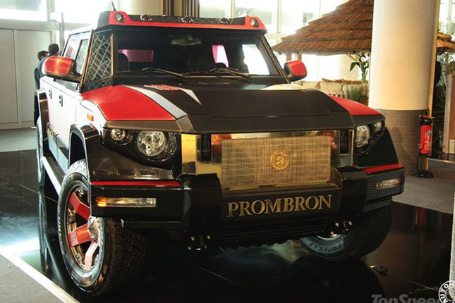 Dartz Kombat Prombron - siêu xe chống đạn giá triệu đô ảnh 9