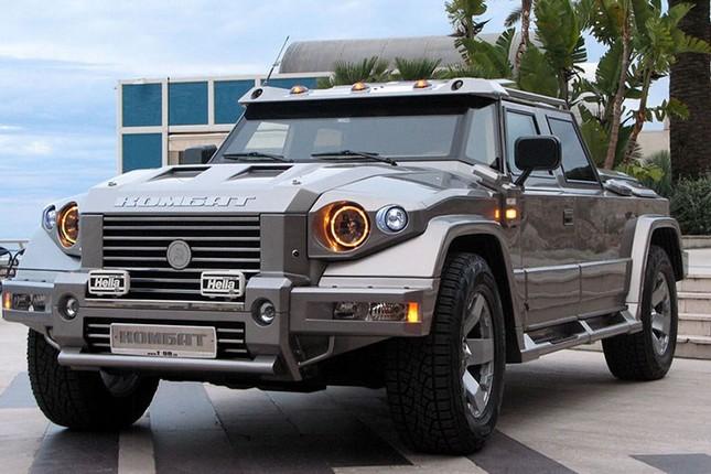 Dartz Kombat Prombron - siêu xe chống đạn giá triệu đô ảnh 1