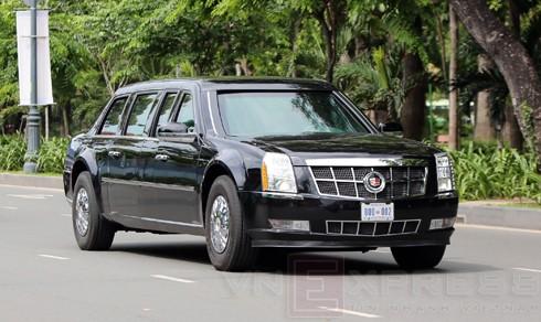 Xe chống đạn mới của Tổng thống Mỹ lộ diện ảnh 3