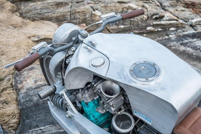 Yamaha GTS1000 - 'quái thú' phá cách của thợ Na Uy ảnh 4