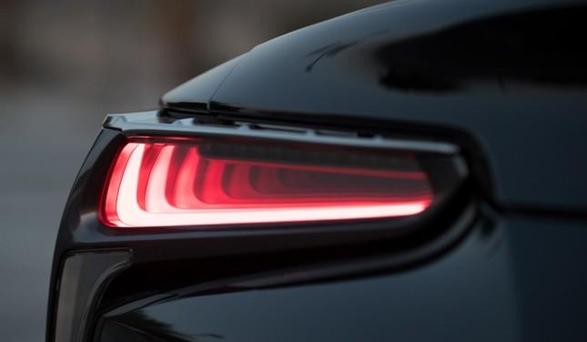 Lexus LC500 2017 khoe dáng dưới hoàng hôn ảnh 8