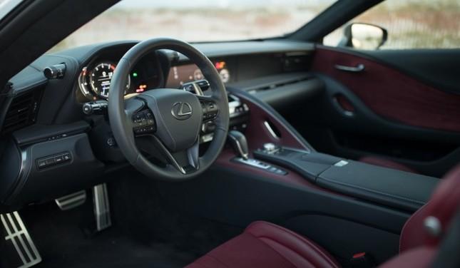 Lexus LC500 2017 khoe dáng dưới hoàng hôn ảnh 9
