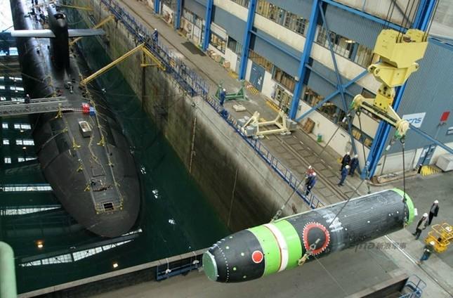 Nhìn gần tàu ngầm hạt nhân 'dát vàng' của Pháp ảnh 2