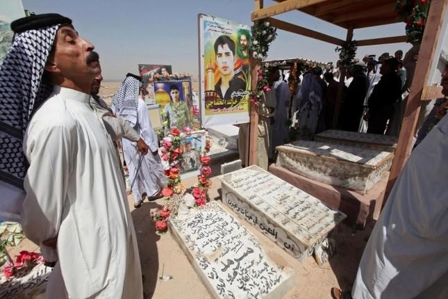 Cận cảnh nghĩa trang rộng nhất thế giới ở Iraq ảnh 4