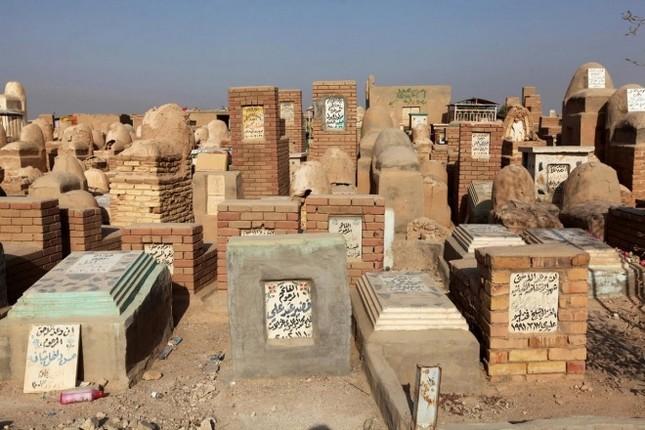 Cận cảnh nghĩa trang rộng nhất thế giới ở Iraq ảnh 6