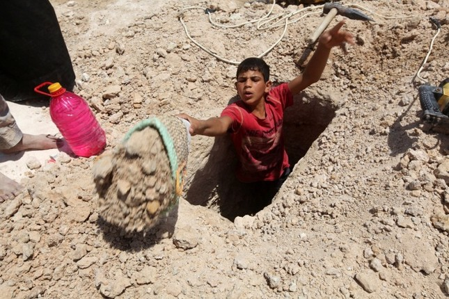 Cận cảnh nghĩa trang rộng nhất thế giới ở Iraq ảnh 7