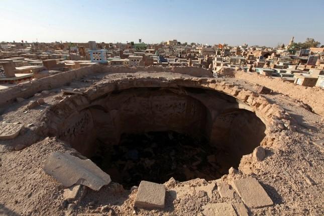 Cận cảnh nghĩa trang rộng nhất thế giới ở Iraq ảnh 8