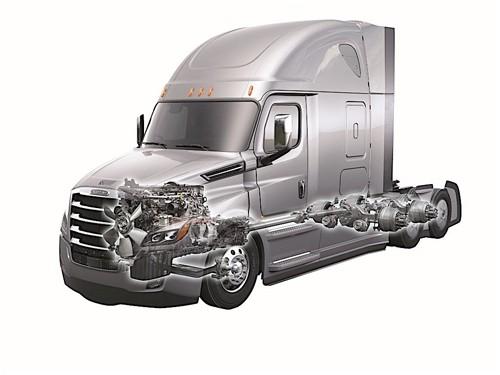 Freightliner Cascadia - xe tải siêu công nghệ ảnh 6