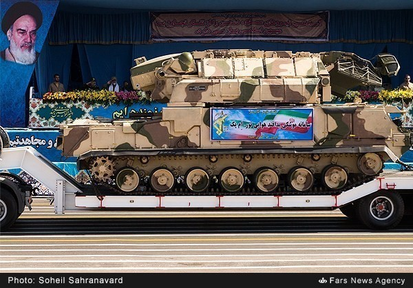 Mục kích dàn vũ khí 'khủng' của quân đội Iran ảnh 19
