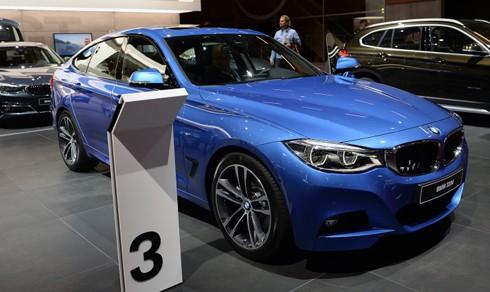 BMW trình làng serie 3 GT 2017 tại Paris ảnh 2