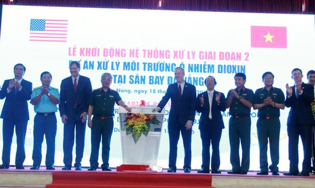 Xử lý 45.000 mét khối đất và bùn nhiễm dioxin tại Đà Nẵng ảnh 1