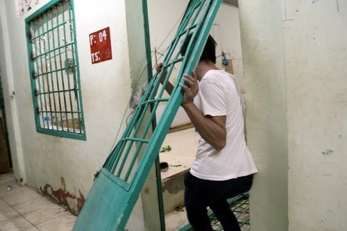 Hiện trường tan hoang vụ 500 học viên phá trại cai nghiện bỏ trốn ảnh 7