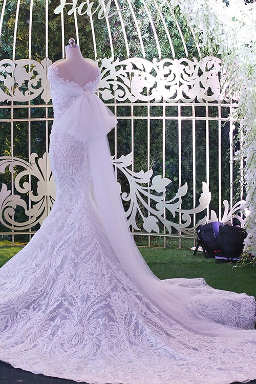 Ba bộ cưới lộng lẫy của cô dâu Hari Won ảnh 3