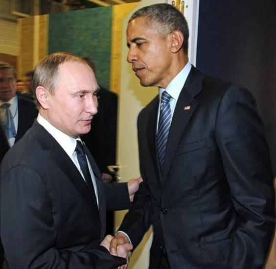 Những cuộc gặp đáng nhớ giữa ông Putin và ông Obama ảnh 6