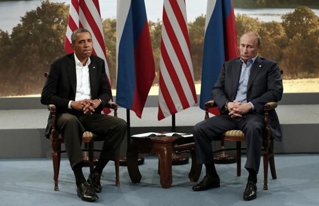 Những cuộc gặp đáng nhớ giữa ông Putin và ông Obama ảnh 3