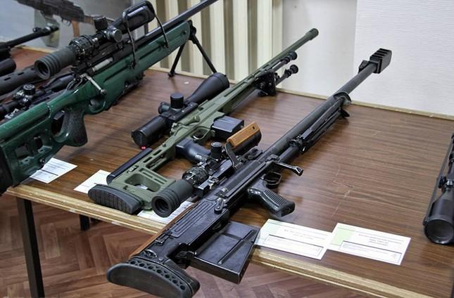 Kinh hãi với uy lực súng trường bắn tỉa xuyên giáp của Nga ảnh 2