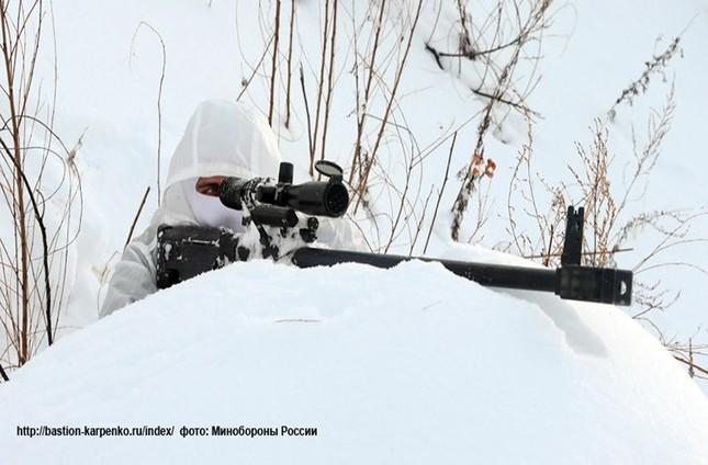 Kinh hãi với uy lực súng trường bắn tỉa xuyên giáp của Nga ảnh 4