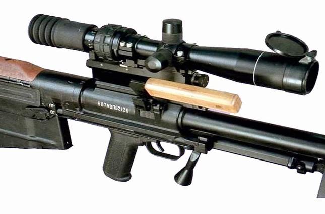 Kinh hãi với uy lực súng trường bắn tỉa xuyên giáp của Nga ảnh 5