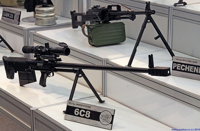 Kinh hãi với uy lực súng trường bắn tỉa xuyên giáp của Nga ảnh 8