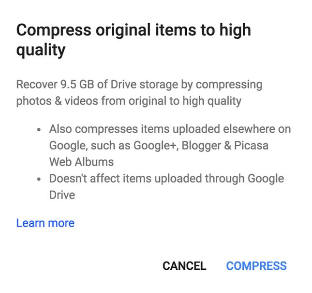 Cách dọn dẹp để tăng bộ nhớ lưu trữ cho Google Drive ảnh 7