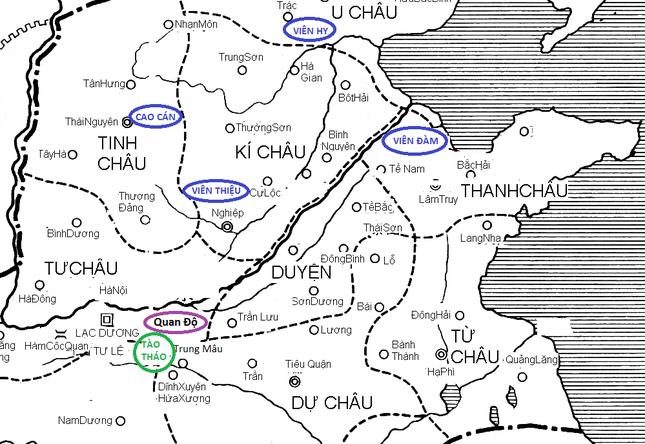 Giải mã Tam quốc: Chiến dịch Quan Độ và những bí ẩn ảnh 3