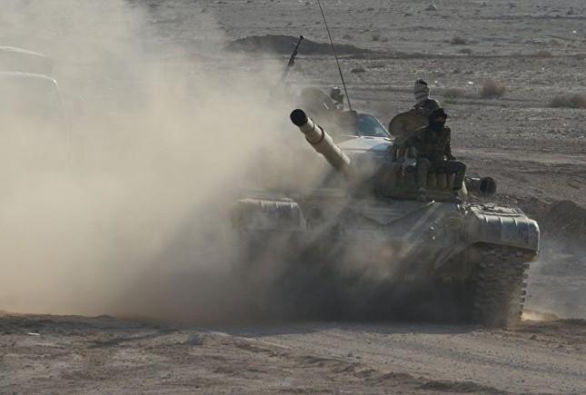 Hàng loạt xe tăng thời Liên Xô tham chiến ở Syria ảnh 3