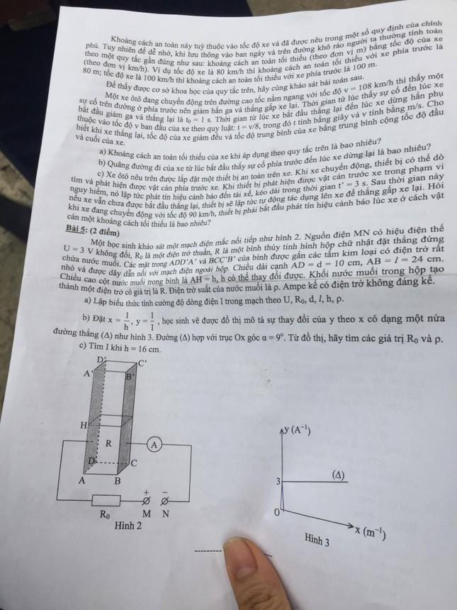Tổng hợp đầy đủ đề thi lớp 10 chuyên TPHCM ảnh 3