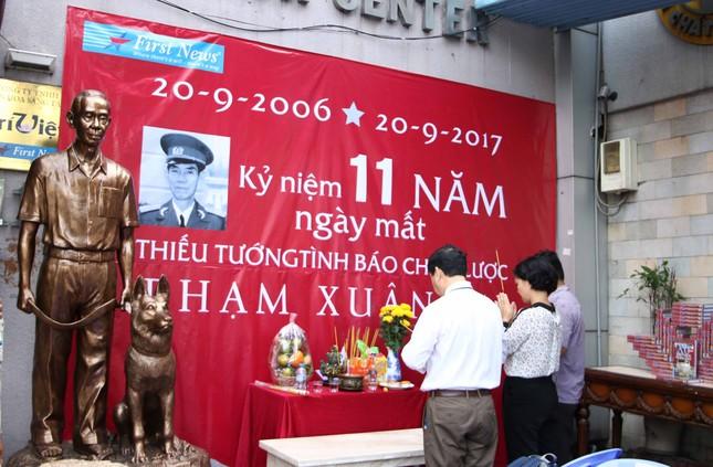 Ra mắt tượng Thiếu tướng tình báo huyền thoại Phạm Xuân Ẩn ảnh 4