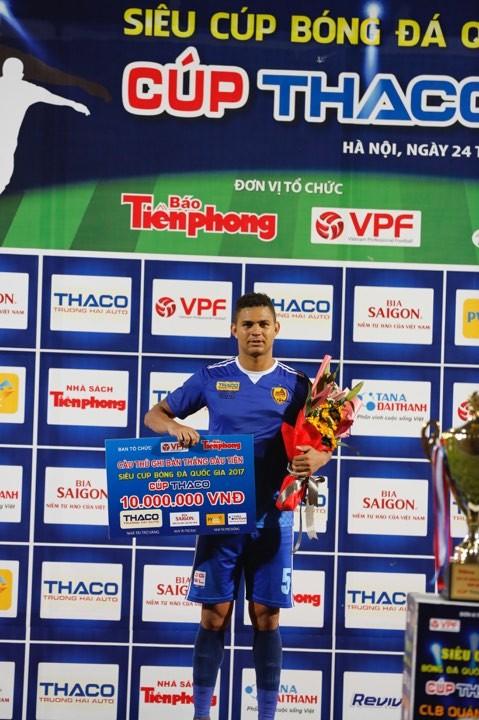 TOÀN CẢNH: Quảng Nam thắng SLNA, lần đầu đoạt Siêu cúp ảnh 24