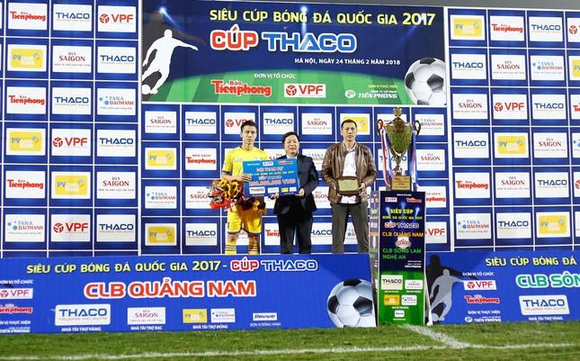TOÀN CẢNH: Quảng Nam thắng SLNA, lần đầu đoạt Siêu cúp ảnh 32