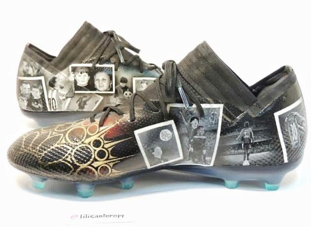 Nữ họa sỹ trẻ đổi đời nhờ vẽ giày tặng Messi ảnh 2