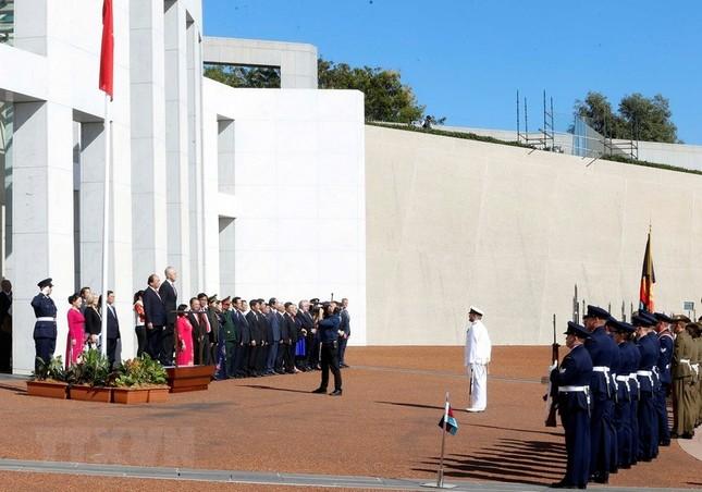 Thủ tướng Nguyễn Xuân Phúc thăm chính thức Australia ảnh 6