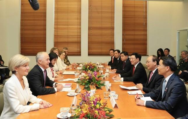 Thủ tướng Nguyễn Xuân Phúc thăm chính thức Australia ảnh 7