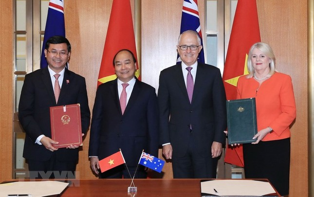 Thủ tướng Nguyễn Xuân Phúc thăm chính thức Australia ảnh 9