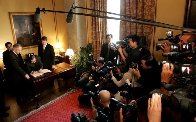 Cố Thủ tướng Phan Văn Khải và chuyến thăm Mỹ lịch sử ảnh 6