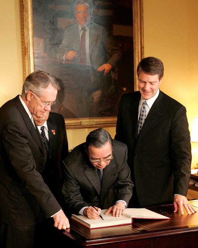 Cố Thủ tướng Phan Văn Khải và chuyến thăm Mỹ lịch sử ảnh 1