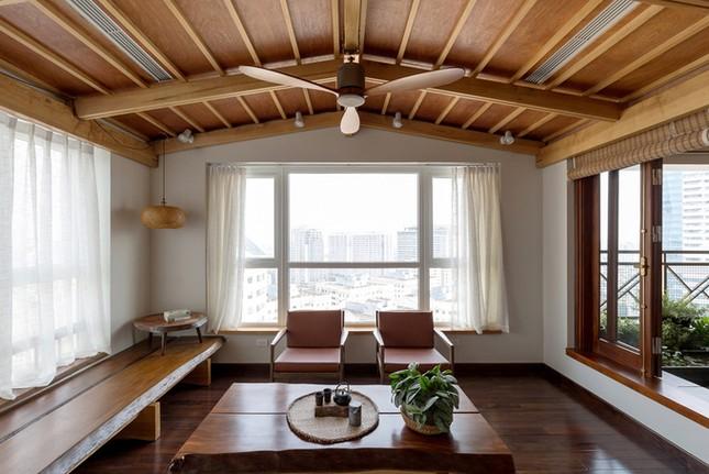 Căn chung cư tầng 26 ở Hà Nội giống... nhà vườn kiểu Nhật ảnh 3