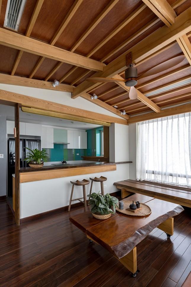 Căn chung cư tầng 26 ở Hà Nội giống... nhà vườn kiểu Nhật ảnh 5