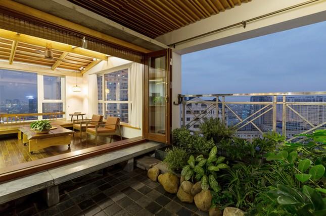 Căn chung cư tầng 26 ở Hà Nội giống... nhà vườn kiểu Nhật ảnh 7